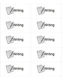Printable Writing Labels