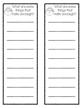 Printable Writing List's