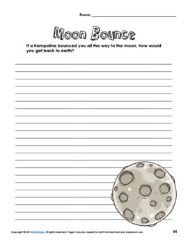 Printable Writing Prompt Collection | 40 Print-and-Go Writing Prompts