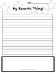 Printable Writing Prompt Sheets: Various Topics (6)