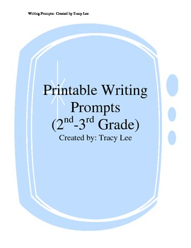 Printable Writing Prompts