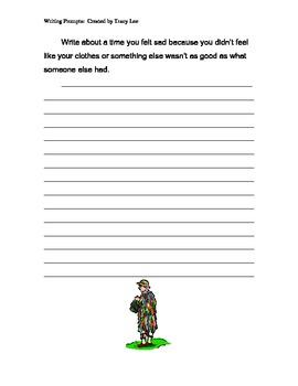 Printable Writing Prompts