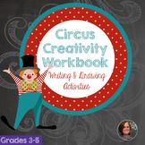 Circus Creativity Workbook - Creative Writing Worksheets a