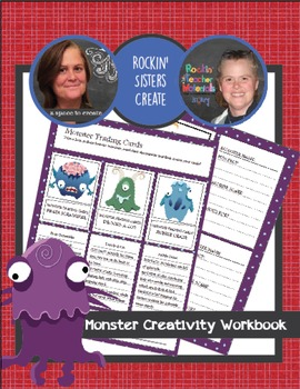 Creative Writing Prompts and Activities - Monster Creativity Workbook