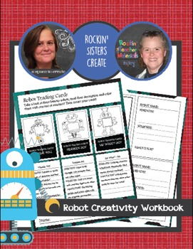 Robot Creativity Workbook - Creative Writing Worksheets and Activities