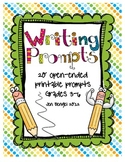 Printable Writing Prompts for Centers and Writer's Notebooks