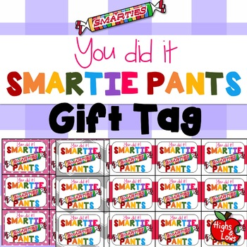 picture about Smartie Pants Printable known as Printable \
