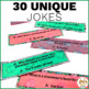 Editable and Personalized Bookmarks for Students for December with Jokes