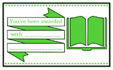 Printable any occasion award (green)