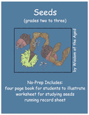 Autumn - Poem - No Prep Printable Book with Activities