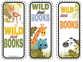 Printable bookmarks - First Grade