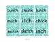 Printable ch wh tch Word Sort Literacy Center With Recording Sheets