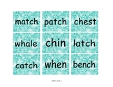 Printable ch wh tch Word Sort Literacy Center With Recordi