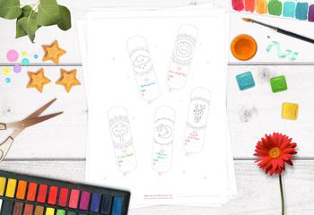 Printable creative kit for KIDS