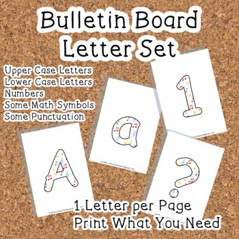 Printable display bulletin letters numbers and more: Music Notes
