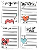 Printable love and encouragment notes #2