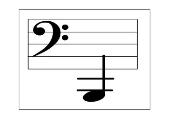 graphic relating to Printable Music Flashcards titled Printable notes flashcards via Sheet Tunes for Bucket Drums TpT