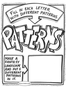 Printable Patterns Exercise FREE