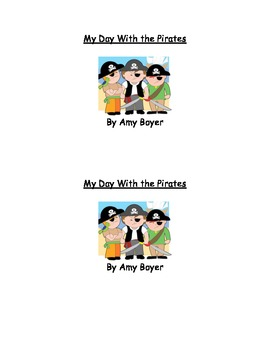 Printable pirate easy reader
