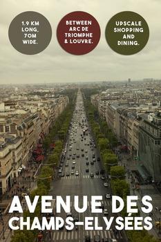 Printable poster - Champs-Elysées