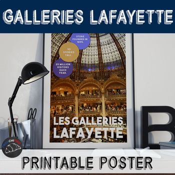 Printable poster - Galleries Lafayette