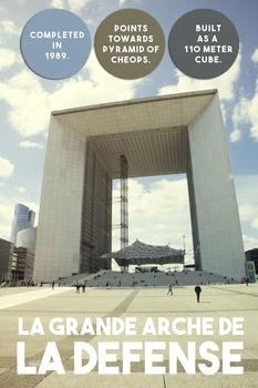 Printable poster - La Defense