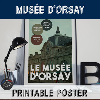 Printable poster - Musée d'Orsay