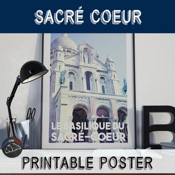 Printable poster - Sacré Coeur