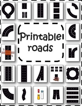 Dynamite image regarding printable roads