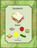 Make a Sandwich  Games for Learning Preschool, Kindergarten, Special Education