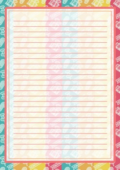 Printable stationary clip design
