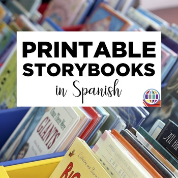 Printable storybooks in SPANISH for Level 1+