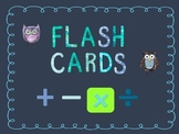 Printable Multiplication Flash Cards