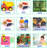Printable visual supports and labels for pecs systems, student schedules.