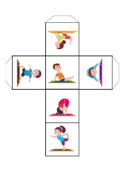 printable yoga pose dicethe overtime ot  teachers pay
