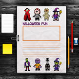 Halloween Writing Paper - FREEBIE