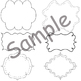 Printables-Clipart Border Pack