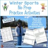 Winter Sports No Prep Printables