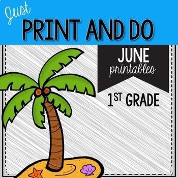 Print and Do- THE BIG BUNDLE- No Prep Math and Literacy