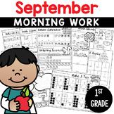 Printables September  Print and Do- No Prep Math & Literacy 1st Grade
