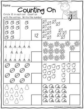 Printables September  Print and Do- No Prep Math & Literacy 1st Grade