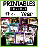 Printables Through the Year