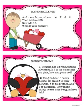 Printables! Valentine's and President's Day Color by Number