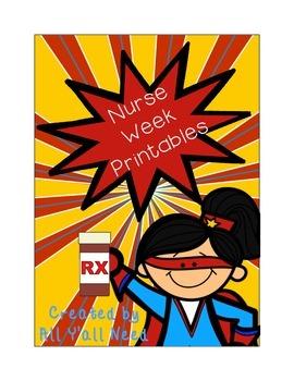 Printables for National Nurses Week