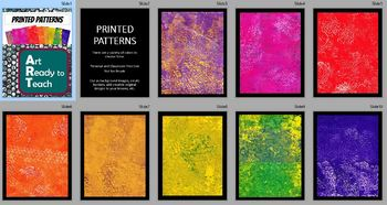 Printed Pattern Images