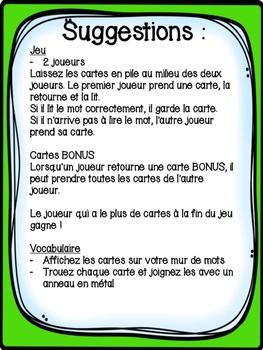 Printemps - 32 cartes de vocabulaire
