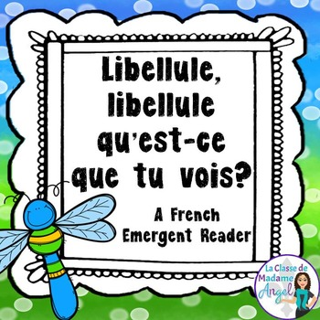 Printemps:  Spring Themed Emergent Reader in French