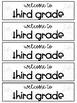 Printer Friendly Back to School Bookmarks (grades K-8)
