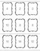 Printer Friendly Multiplication Flashcards