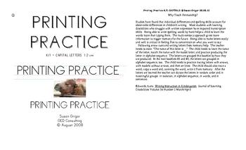 Printing #1 K-1 CAPS production